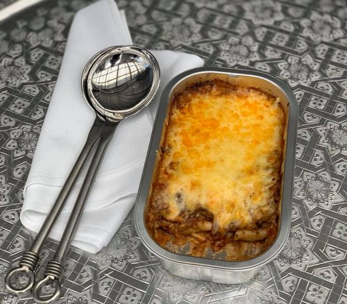 Lamb and Pasta Moussaka Bake (Small)