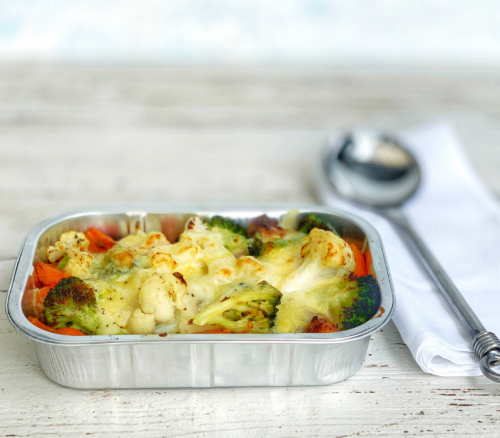 Vegetable Cheesy Bake