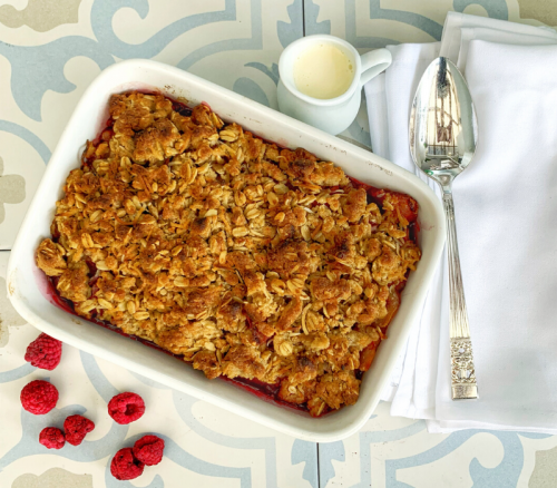 Gattings Apple and Raspberry Crumble