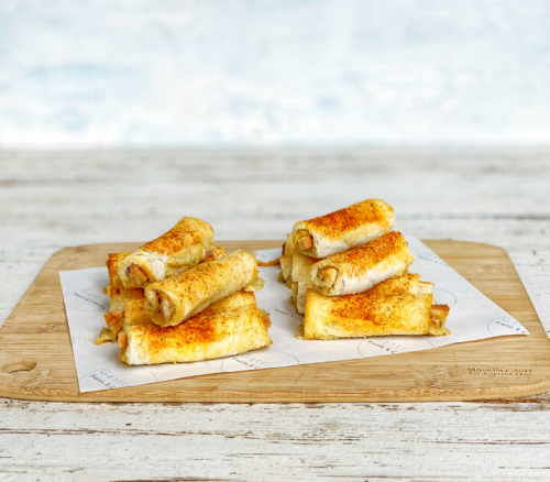 Gatting's Cheesy Rolls
