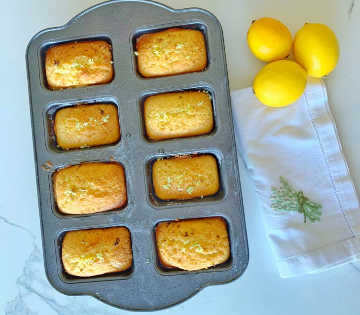 gatting's Lemon and Lime Drizzle Loaf