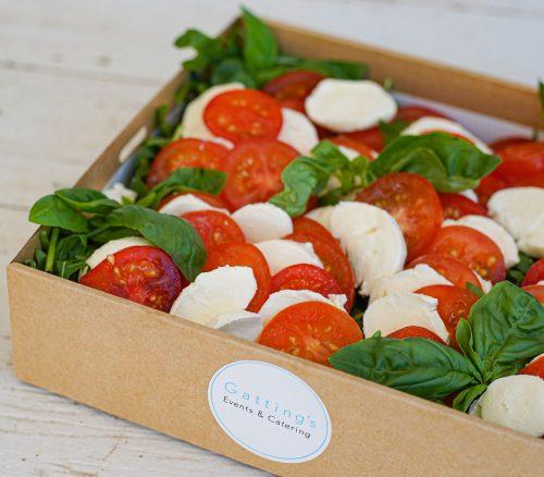 Tomato, rocket and buffalo mozzarella salad