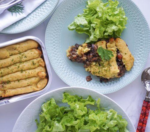 Sweet Potato and Lentil Shepherds Pie (Vegan)